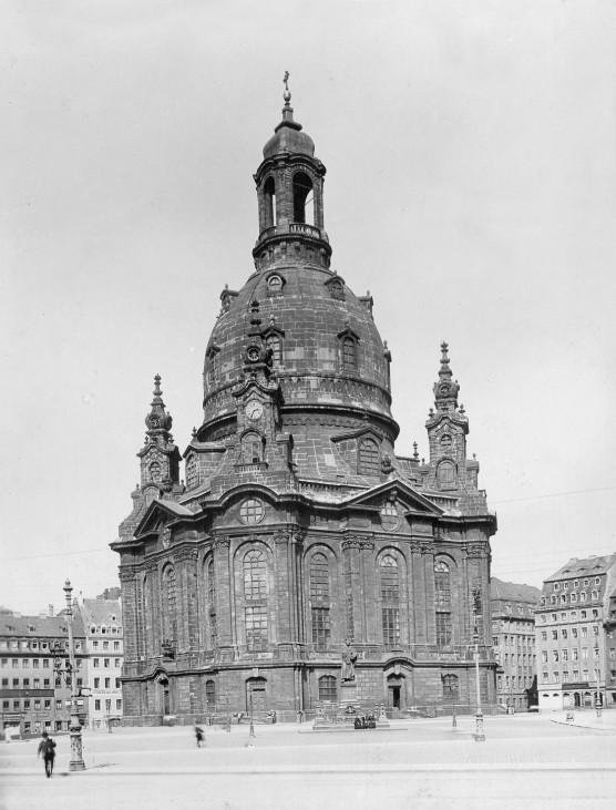 Frauenkirche in Dresden, 1931