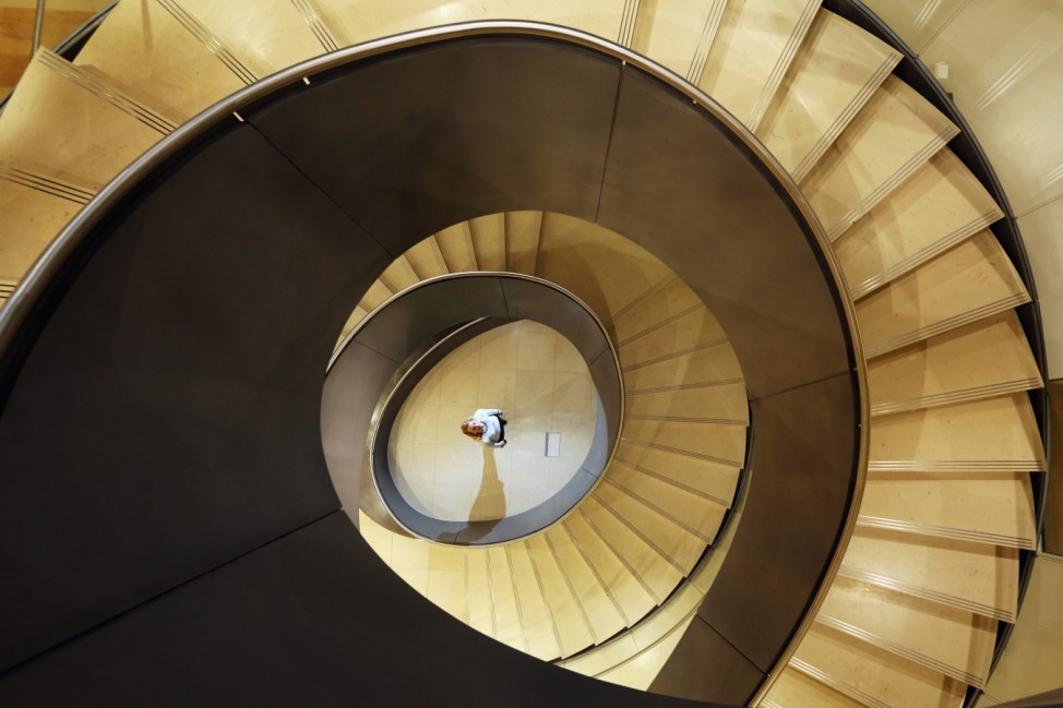 Cantilevered Staircase Unveiled At The Wellcome Collection
