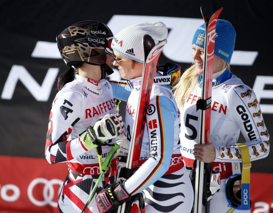 Alpine Skiing: FIS World Championships-Women's Giant Slalom Run 2