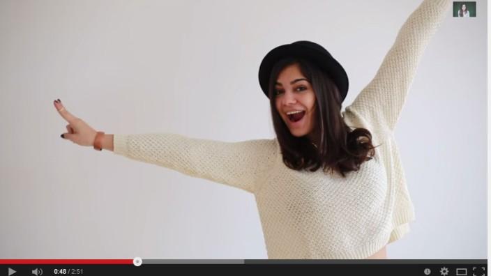"""Abwandern von Youtube-Stars: Youtube-Werbegesicht Nilam Farooq alias """"Daaruum"""""""