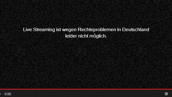 Illegale Youtube-Videos: Dieses Video ist in Deutschland nicht verfügbar