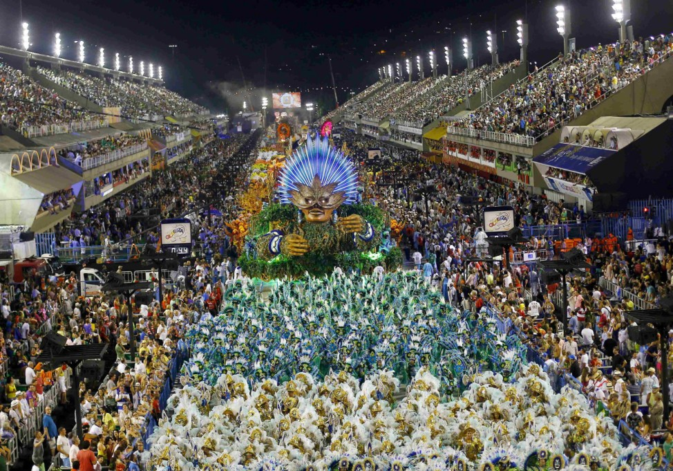 Karneval in Rio de Janeiro, Brasilien, Carnaval, Sambódromo