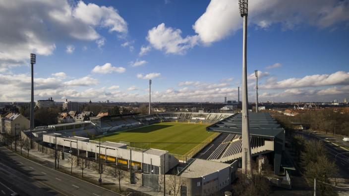 Grünwalder Stadion in München, 2014