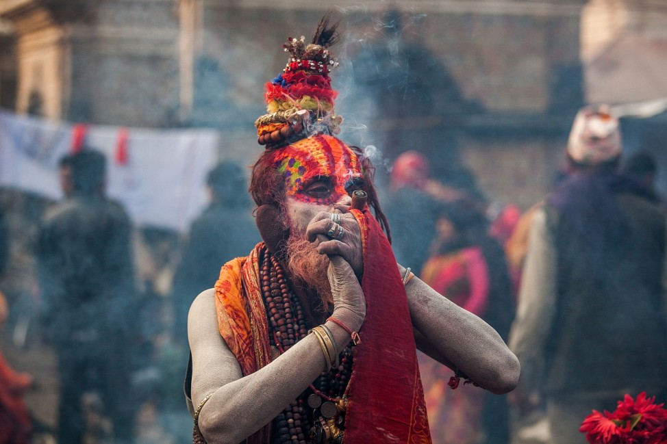 Hindu Devotees Gather For Anual Shiva Festival in Nepal