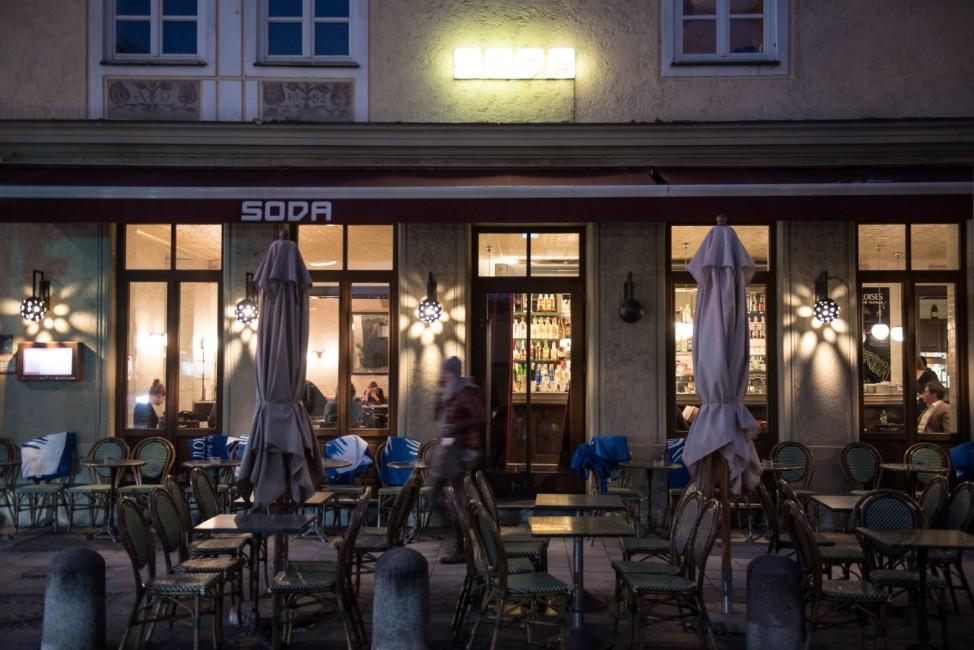 "Cafe ""Soda"" in München, 2015"