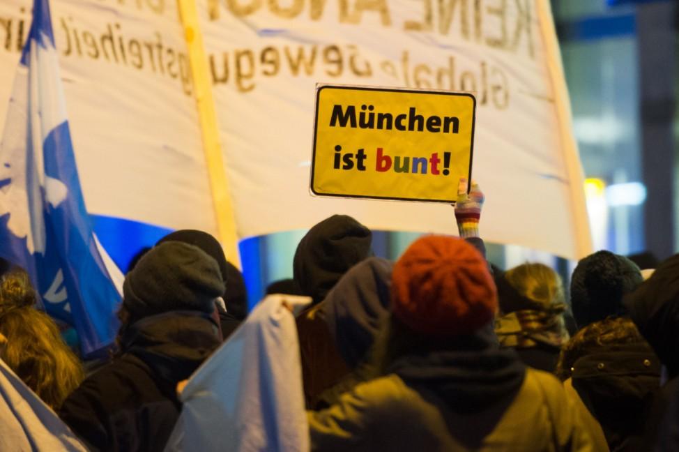 Anti-Bagida-Demonstration