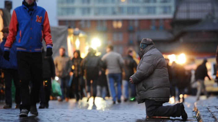 Armut in Hamburg bundesweit am meisten gestiegen