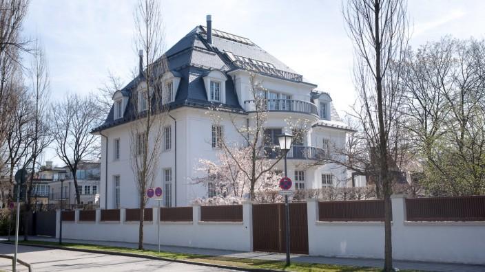 Ehemaliges Wohnhaus von Thomas Mann in München, 2012