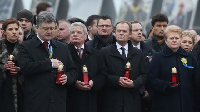 Ukraine Kiew Gauck
