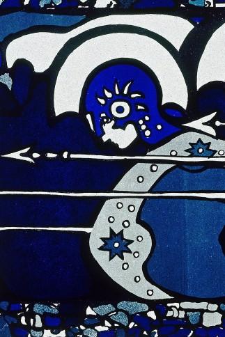 Plakat Phalanx, Ausstellung 1901