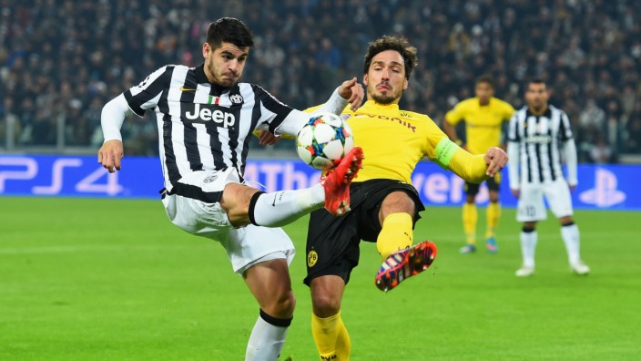 Juventus v Borussia Dortmund - UEFA Champions League Round of 16
