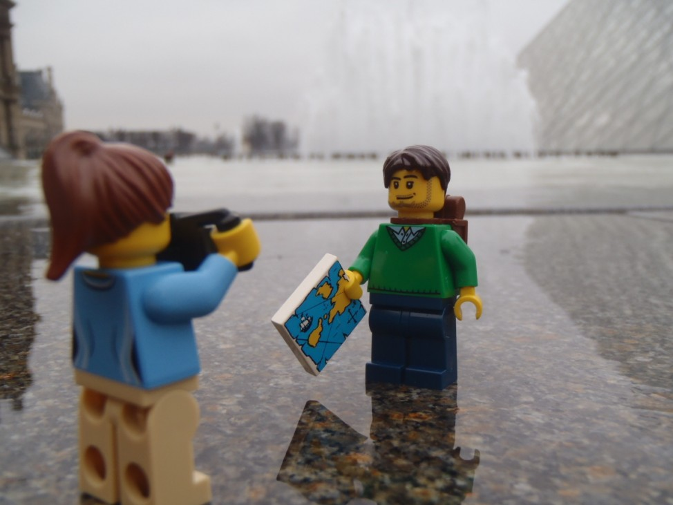 Legotravellers - für die Reise zum Bild.