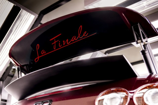 Bugatti Veyron Roadster Grand Sport Vitesse La Finale