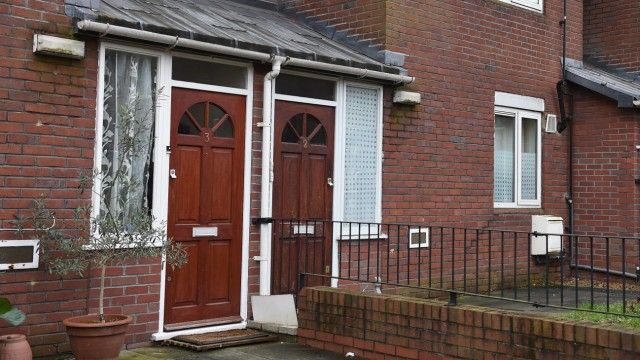 Home believed to be of IS militant in London epa04638488 An exterior view of a home (R) believed to be where IS militant 'Jihadi John', identified as Mohammed Emwazi, used to live in London, Britain,