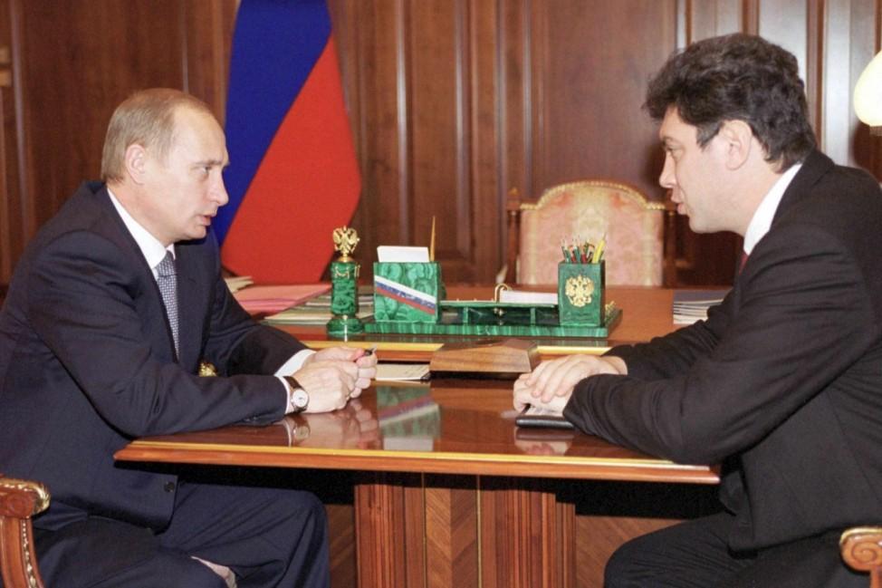 Boris Nemzow und Wladimir Putin