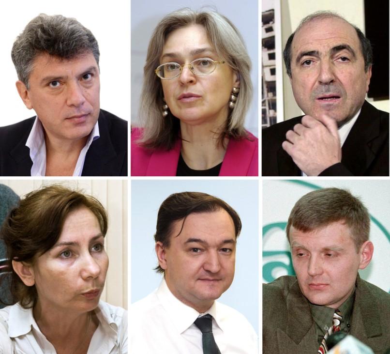 Russische Regierungskritiker