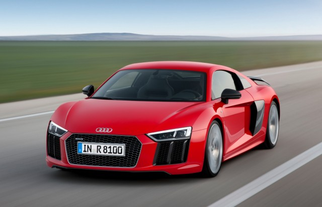 Der neue Audi R8.