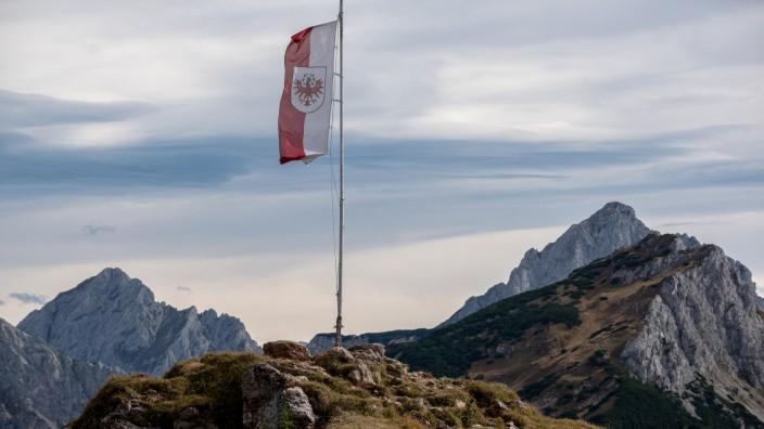 Tirol-Flagge von Österreich