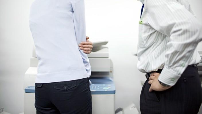 Sexuelle Belästigung im Büro