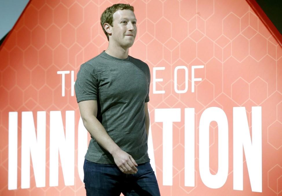 Mobile World Congress convention (MWC) - Mark Zuckerberg