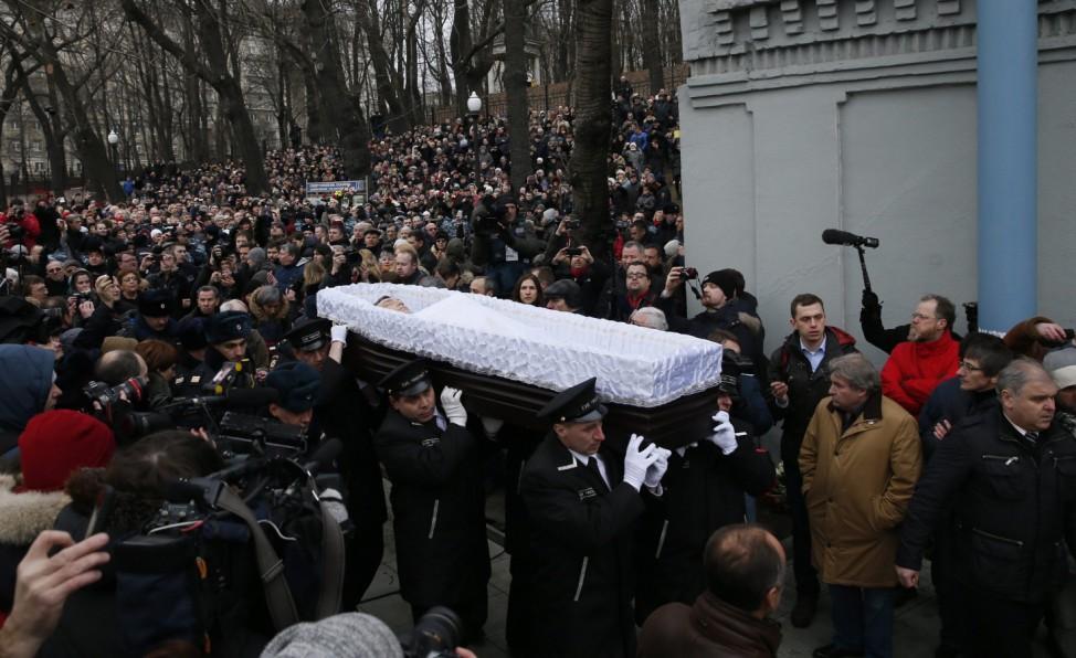 Funeral of Boris Nemtsov