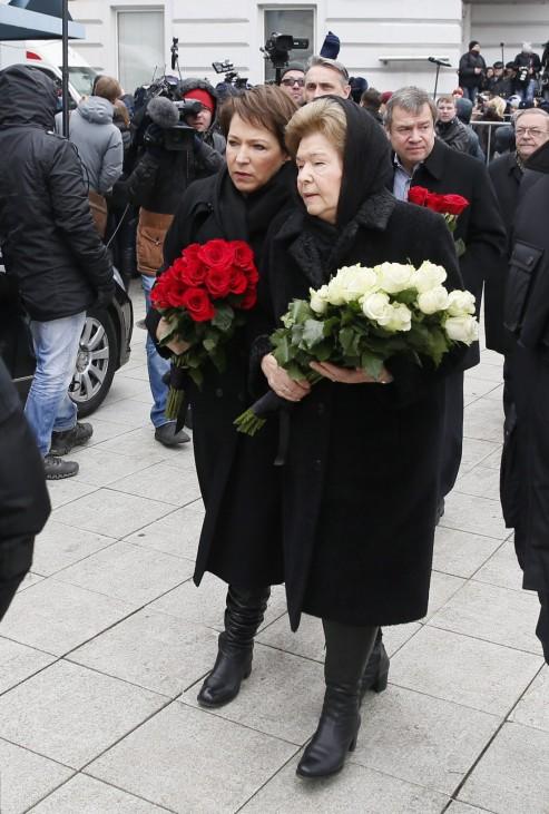 Funeral of BorisNemtsov