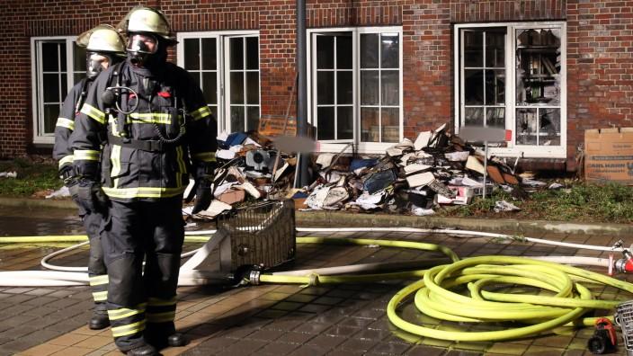 """Brandanschlag auf ´Hamburger Morgenpost"""""""