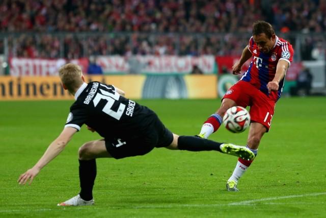 FC Bayern Muenchen v Eintracht Braunschweig - DFB Cup