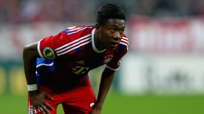 FC Bayern Muenchen v Eintracht Braunschweig - DFB Pokal David Alaba