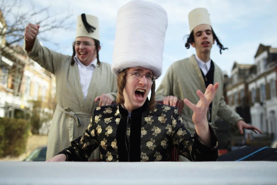 London's Jewish Community Celebrate Purim