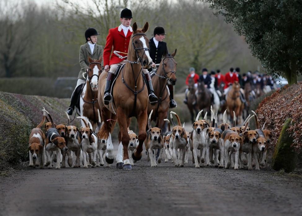 Atherstone Hunt Celebrates It's 200th Anniversary
