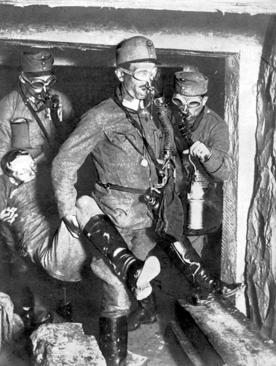 Gaskrieg im Ersten Weltkrieg, 1918