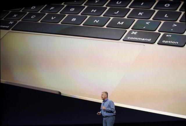 Apple: Phil Schiller stellt 2015 das neue MacBook vor