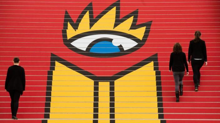 Das neu gestaltete Logo der Leipziger Buchmesseist
