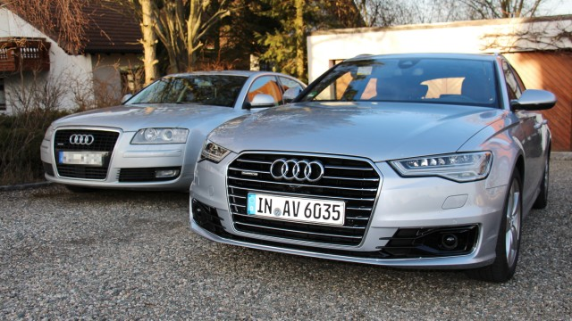 Audi A6 Avant und Audi A8 3.0 TDI Quattro