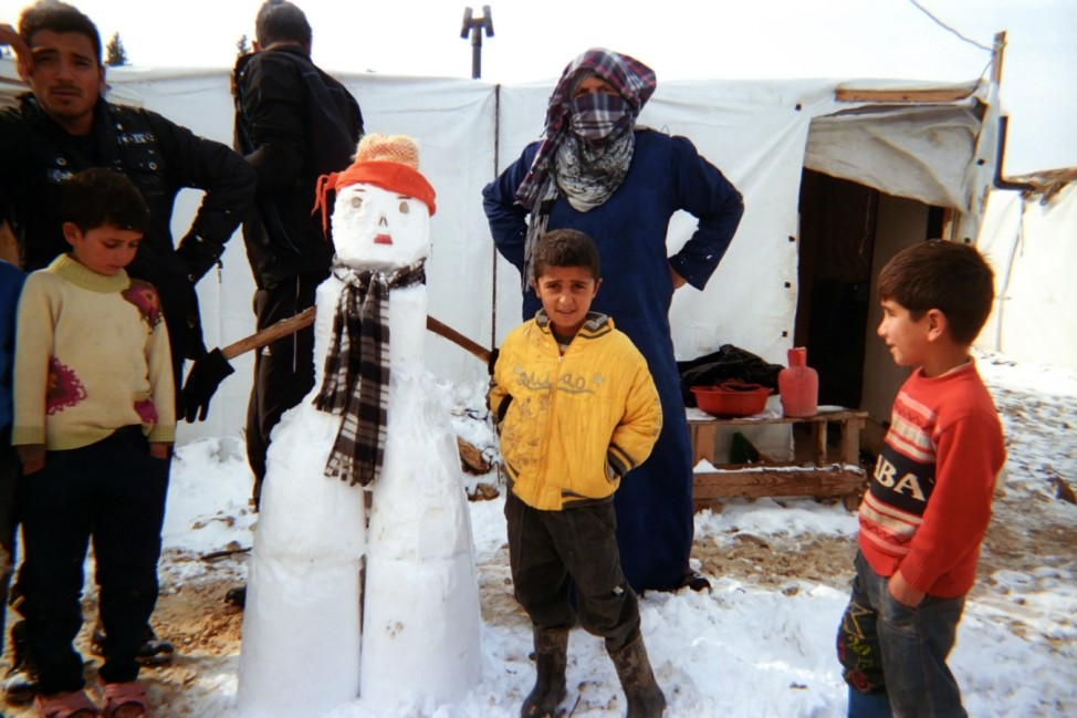 Akram, 8 years, from Reef Aleppo, lives in an informal settlement in Bekaa Valley