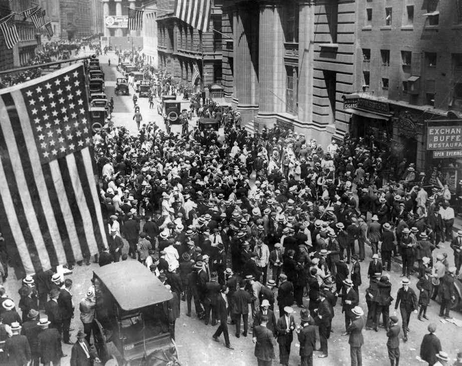Schwarzer Freitag in New York, 1929