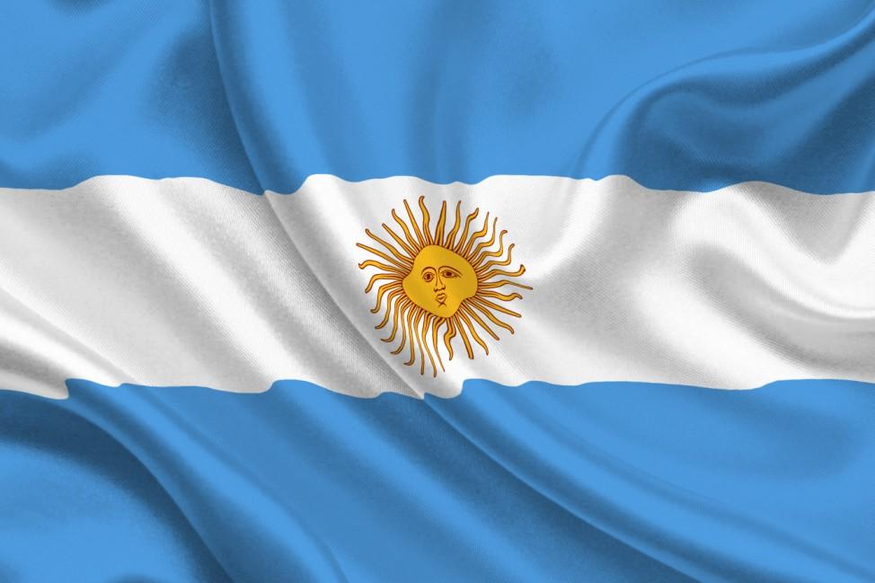 Flagge,Argentinien, Fußball, WM, Fahne, WM 2010