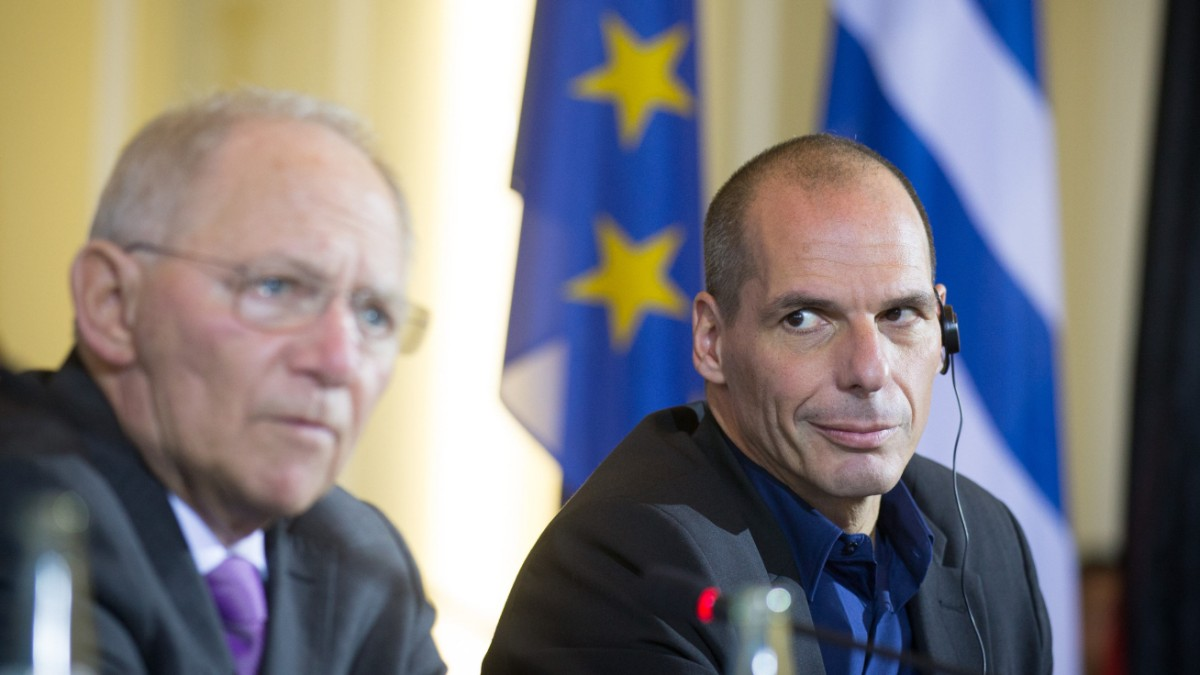 Varoufakis: Bin Schäuble näher gewesen als Anderen - Politik - SZ.de