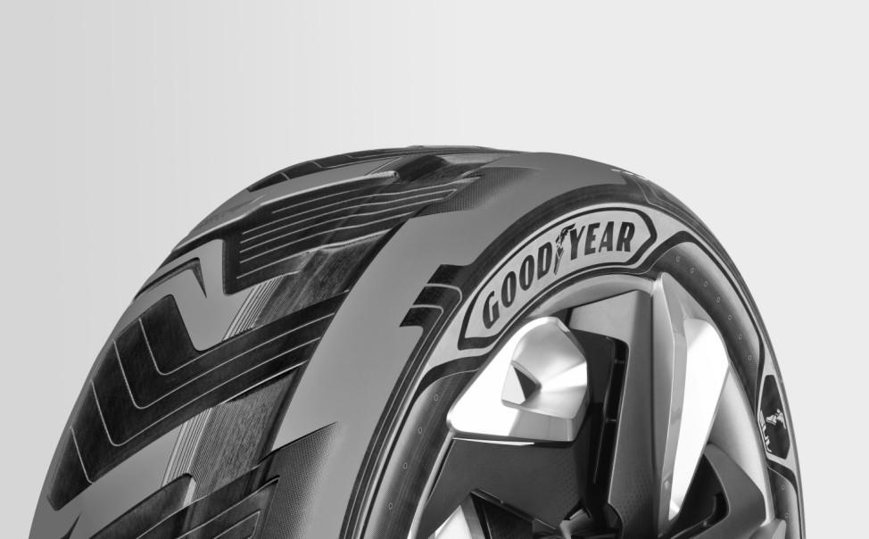Goodyear stellt Strom produzierenden Konzept-Reifen vor