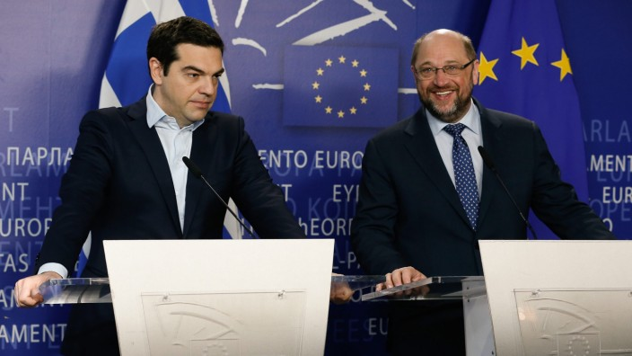 Greek Prime Minister Alexis Tsipras in brussels