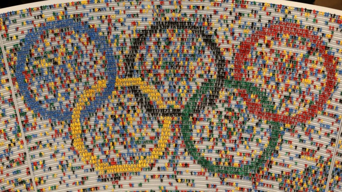 Olympiastadion vom Miniatur-Wunderland