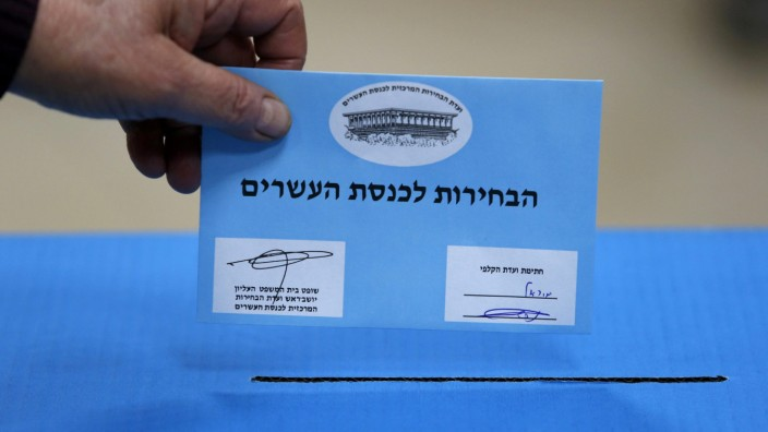 Knesset elections in Israel