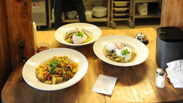 Restaurant Waldmeisterei: Das Lokal in der Maxvorstadt hat nur tagsüber geöffnet, aber ein Besuch lohnt sich allemal.