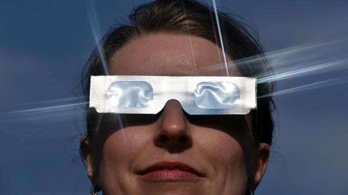 Spezialbrille für Sonnenbeobachtung