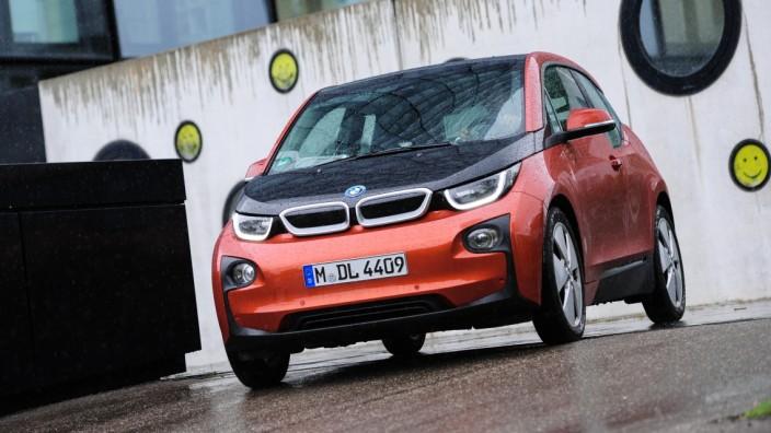 Elektroauto BMW i3, 2014