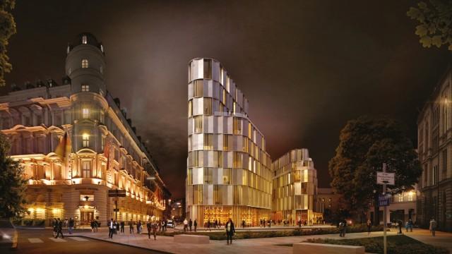 Architektur: Der Entwurf des Büros Nieto Sobejano Arquitectos aus Madrid hatte den Architektenwettbewerb eigentlich gewonnen.