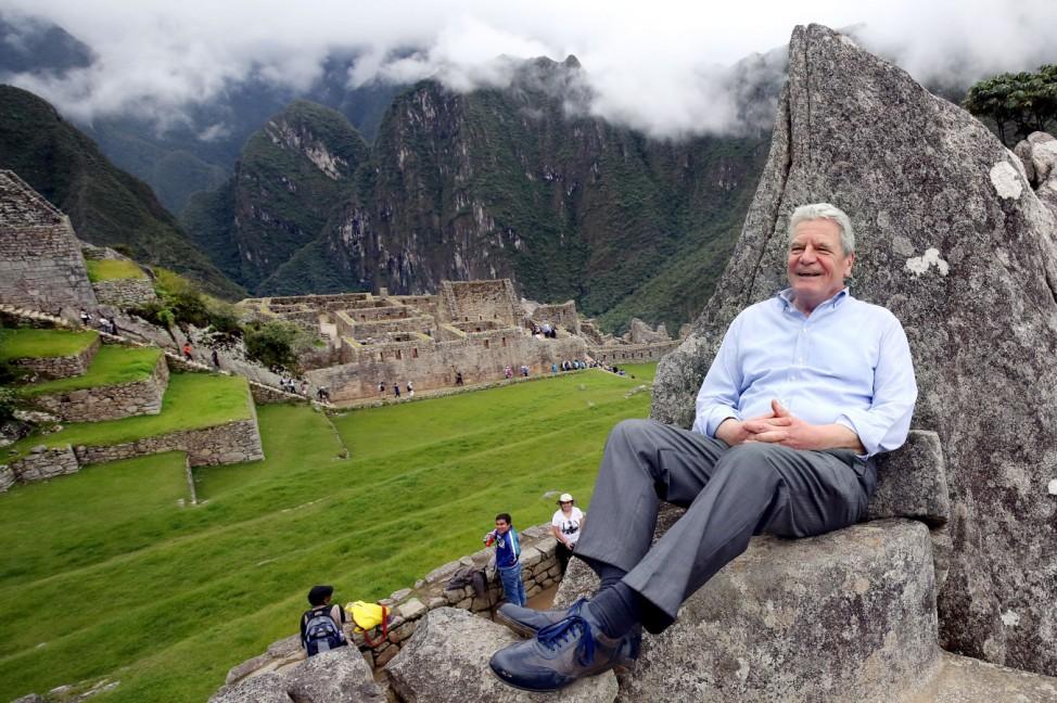 Gauck in Peru