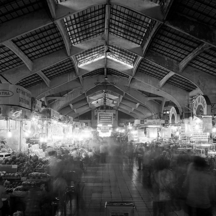 Chợ Bến Thành, Saigon, 2014