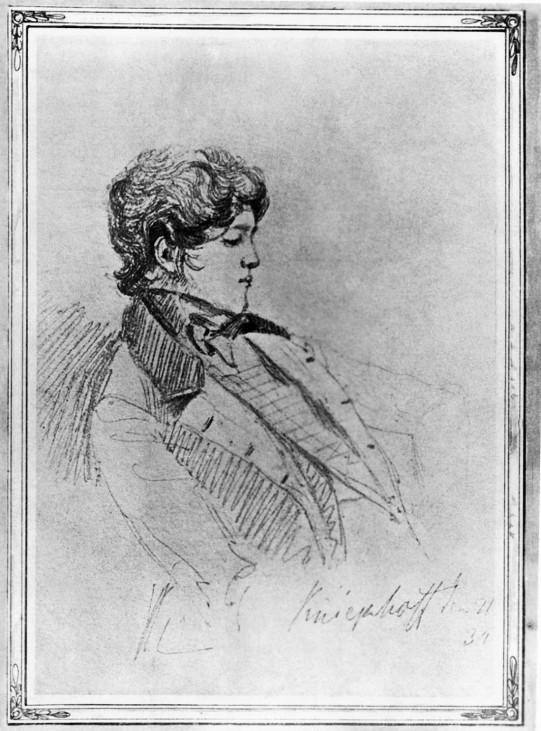 Otto von Bismarck, 1834